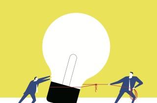 Lightbulb - partnership